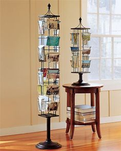 Pottery Barn Inspired Photo and Gretting Card Carousel