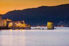 Sunset in Leros island - Sunset in Leros island at Agia Marina gulf..!!