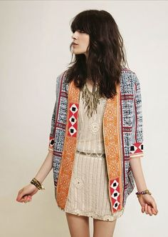 Get the Look: Boho Chic Look Boho Chic, Hippy Chic, Bohemian Mode, Bohemian Style, Looks Style, Style Me, Trendy Style, Hair Style, Mode Lookbook