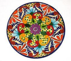Mexican Talavera Plate
