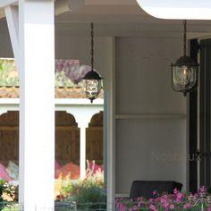 Heeft U een veranda en bent U op zoek naar een mooie hanglamp voor de veranda dan is dit een goed idee