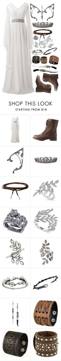 """I Have Made My Choice"" by choice-to-be ❤ liked on Polyvore featuring Charlotte Russe, Nina Rai Couture Hats, Humble Chic, Allurez, Effy Jewelry, Accessorize, CA&LOU, Shaun Leane, Michael Aram and Lanvin"