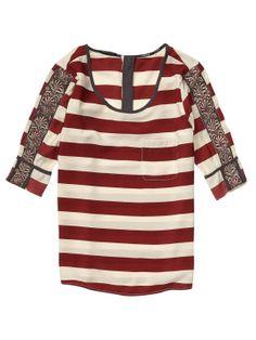 Maison scotch striped blouse
