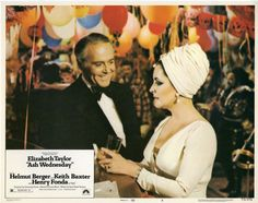 8/09/14  8:38p   Paramount  Pictures Release ''Ash Wednesday''  Elizabeth Taylor   Henry Fonda 1973