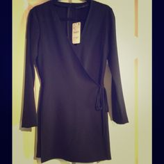 Zara black jumpsuit Black kimono style jumpsuit with skorts. Ultra chic and trendy. Perfect for the holiday season! Zara Other