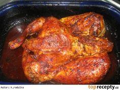 Kuře na medu Top Recipes, Cooking Recipes, Food Cravings, Tandoori Chicken, Poultry, Pork, Turkey, Food And Drink, Menu