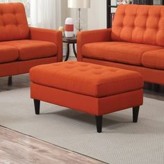 Ottoman from Wolf's Furniture