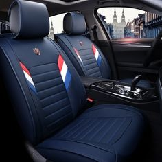 New PU Leather Auto Universal Car Seat Covers for Skoda Octavia 1 2 a5 a7 RS Superb 2 3 2017 2016 2015 2014 2013 cushion covers
