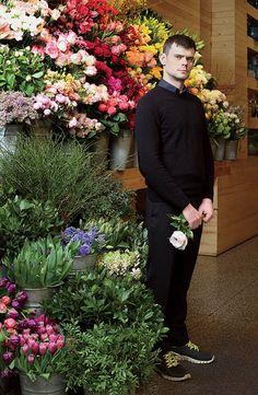 Mark Colle, florist