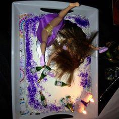 Dirty thirty bday cake