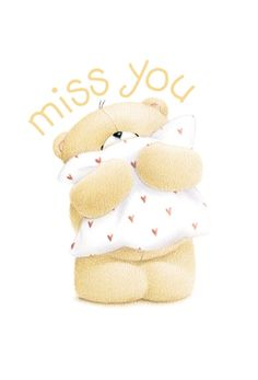 I Miss You Cute, Cute Love, Cute Cartoon Pictures, Cute Pictures, Hugs And Kisses Quotes, Cute Bear Drawings, Cute Clipart, Zoo Clipart, Teddy Bear Pictures