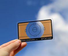 Visitenkarten - transparent - individuell - abgerundete Ecken - www.bce-online.com/de