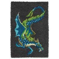 Craftways® Water Dragon Latch Hook Kit