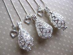 Beach Wedding Jewelry Sea Glass Necklace Beach by SamiSeaglass, $56.00