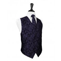 Amethyst Tapestry Vest - Rent separately for just $15, or include it in your complete tux package starting at just $59!