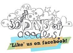 30 Days of Doodles on Facebook!  by Alexandra*Rae, via Flickr