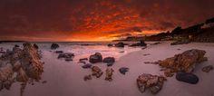Sunrise on Boat Harbour beach Tasmania