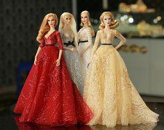 vestito per royalty di moda, Poppy Parker, Silkstone Barbie, fr2, 12 ' Fashion Doll, Fr1
