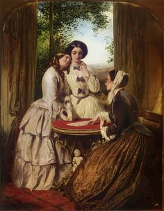 """the-garden-of-delights:  """"Doubtful Fortune"""" by Abraham Solomon (1824-1862)."""