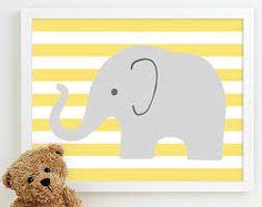 Bilderesultat for elephant themed kids room