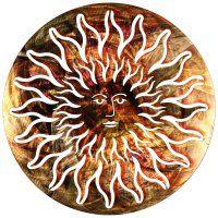 copper celestial sun