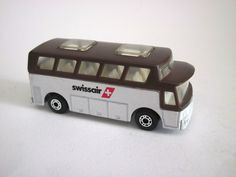 Matchbox Swissair airport bus