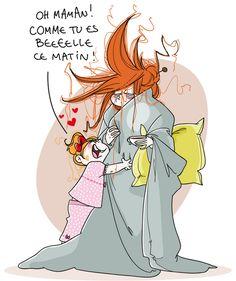 oh !!! comme tu es belle maman !! hahahahahaha !!!!