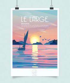 Belle Photo, Digital Art, Drawings, Beach, Illustration Animals, Movie Posters, Painting, Design, Journal