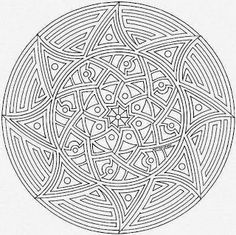 This expert Mandala coloring sheet is a fun design and quite challenging to color. Mandala coloring page can be decorated online with the . Mandala Art, Mini Mandala, Mandala Simple, Design Mandala, Mandalas Painting, Mandalas Drawing, Dot Painting, Mandala Tattoo, Zentangles