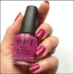 Opi hurry-juku get this color - opi tokyo swatches 2019 New Opi Colors, Opi Nail Colors, Lip Colors, Opi Pink Nail Polish, Opi Nails, Manicures, Gel Manicure, Tokyo, Nail Art