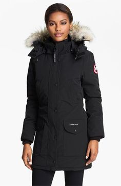Canada Goose 'Trillium' Parka with Genuine Coyote Fur Trim available at #Nordstrom
