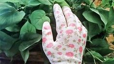 Gardening Gloves for Women - 3 Pack (Medium) - Breathable Nylon, Nitrile Coated Palms - Light Gardening - Easy to Clean - Great Gardening Tool for Women For The Garden in 3 Stylish Designs Sweaty Hands, My Bookmarks, Gardening Gloves, New Pins, Amazing Gardens, Rave, Things To Come, Blog, Popular