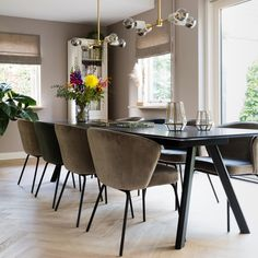Dining Chairs, Dining Room, Dining Table, Living Spaces, Sweet Home, Interior Design, Kitchen, House, Furniture