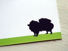 Pomeranian Dog Personalized Stationery - Note Cards - Thank You Notes - Pets . Pet Lovers . Set of 10. $20.00, via Etsy.