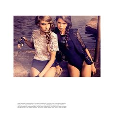 summer babes styled by Marina Didovich Fashion Stylist, Editorial Fashion, Stylists, Women Wear, Swimwear Australia, My Style, Summer, Specs, Eyeglasses