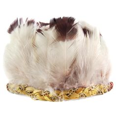 Ettika :: More :: Headbands :: Wild Thing Feather Crown in Dusty Sunset