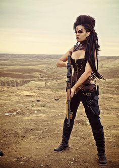 Mad Max Inspired Cosplay http://geekxgirls.com/article.php?ID=4066