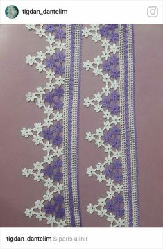 Chrochet, Crochet Lace, Crochet Edgings, Baby Knitting Patterns, Crochet Patterns, Holidays And Events, Tatting, Diy And Crafts, Design Inspiration