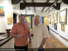 Enjoying the Old Town Gallery