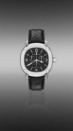 THE BRITAIN BBY1107 47MM CHRONOGRAPH | Burberry