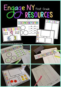 Engage NY First Grade Free Math Resources and Downloads by Erica Bohrer