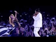 """▶ Beyonce And Jay Z """"Forever Young"""" """"Halo""""Paris Stade de France On The Run Tour【HD】. - YouTube"""