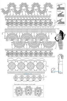 Crochet.es.un.arte!: Crochet - Vestido encaje