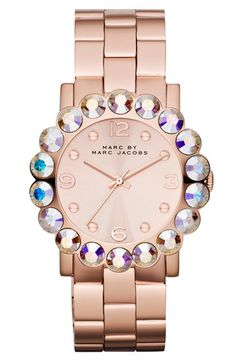 MARC BY MARC JACOBS 'Amy Scallop' Bracelet Watch, 39mm available at #Nordstrom (i really want this watch)