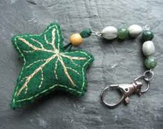 hand embroidered keychain - Google Search