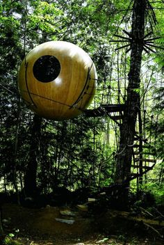 + Ideas for Cozy and Incredibly Cool Tree Houses Des Femmes D Gitanes, Amazing Architecture, Architecture Design, Backyard Treehouse, Cool Tree Houses, Tree House Designs, Parcs, Garden Sculpture, Cozy