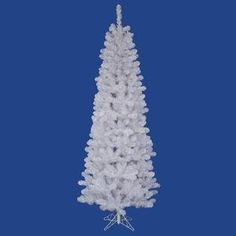 Vickerman White Salem Pencil Pine Tree with 217 Tips 45Feet by 24Inch >>> Want to know more, click on the image.