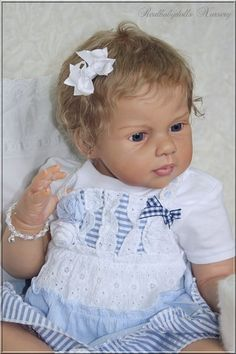 "Toddler Baby Girl "" Louisa "" Jannie de Lange - Reborn Realbabydolls Nursery | eBay"