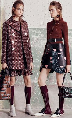 Marni PreFall 2016 Fashion 2017, Couture Fashion, Fashion Outfits, Womens Fashion, Fashion Trends, Funky Outfits, Crop Top Outfits, Casual Outfits, Daily Street Looks