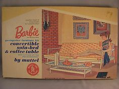Vintage Barbie go-together furniture kit
